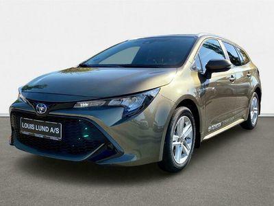 brugt Toyota Corolla Touring Sports 1,8 Hybrid Active E-CVT 122HK Stc Trinl. Gear A+