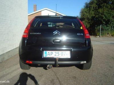 brugt Citroën C4 1,6 HDi FAP SX E6G 110HK 5d 6g Aut.
