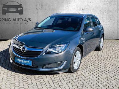 brugt Opel Insignia Sports Tourer 1,6 CDTI Edition 136HK Stc 6g Aut. - Personbil - grå