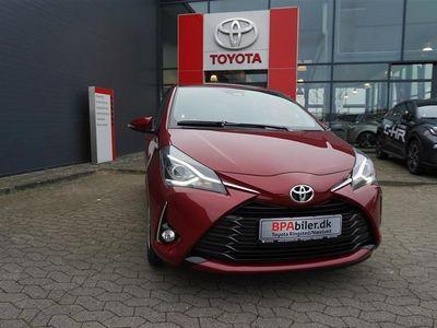 brugt Toyota Yaris 1,5 VVT-I T2 Limited 111HK 5d 6g