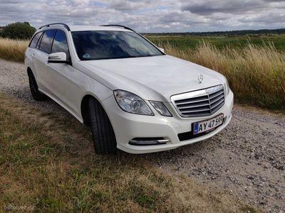 gebraucht Mercedes E220 2,2 CDI BlueEfficiency 170HK Stc 7g Aut.