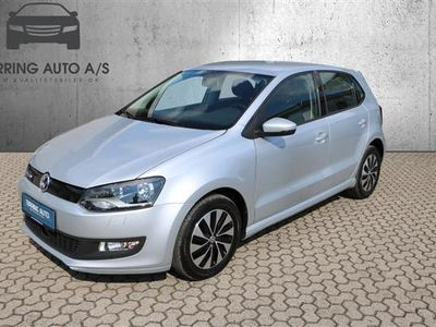 gebraucht VW Polo 1,0 Bluemotion BlueMotion DSG 95HK 5d 7g Aut. - Personbil - Sølv