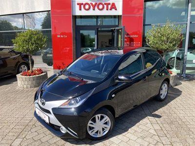 brugt Toyota Aygo 1,0 VVT-I X-Black II 69HK 5d