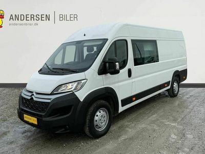 brugt Citroën Jumper 35+ L4H2 Mandskabsvogn 2,2 Blue HDi Flexline start/stop 165HK Van