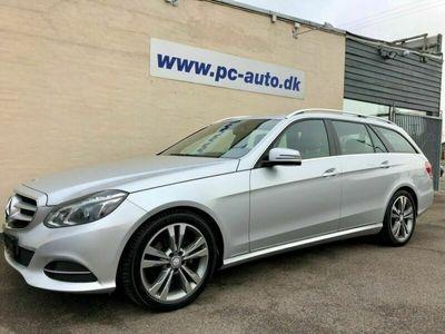 brugt Mercedes E220 2 CDi Avantgarde stc. aut. BE 5d
