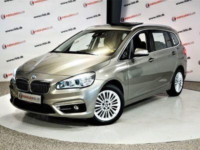 brugt BMW 218 Gran Tourer d 2,0 Luxury Line aut 7p