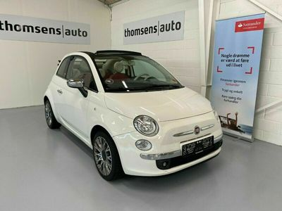 brugt Fiat 500C 1,2 Opening Edition