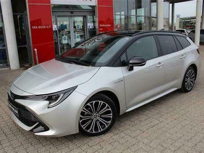 brugt Toyota Corolla Touring Sports 1,8 B/EL H3 Premiumpakke E-CVT 122HK Stc Trinl. Gear