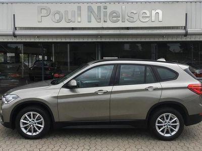 brugt BMW X1 20D 2,0 sDrive20d aut Advantage 190HK 5d