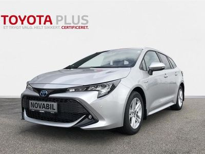 brugt Toyota Corolla Touring Sports 1,8 B/EL H3 Smart Safety Plus E-CVT 122HK Stc Trinl. Gear A+++