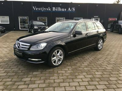 begagnad Mercedes C200 2,2 CDi Avantgarde st.car BE