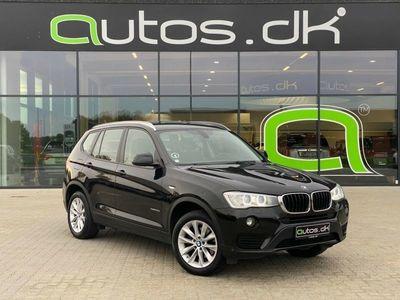 brugt BMW X3 2,0 xDrive20d aut.