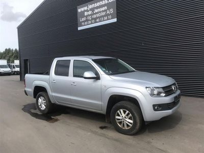 brugt VW Amarok 2,0 TDI Trendline 4Motion 140HK Pick-Up 6g 2015