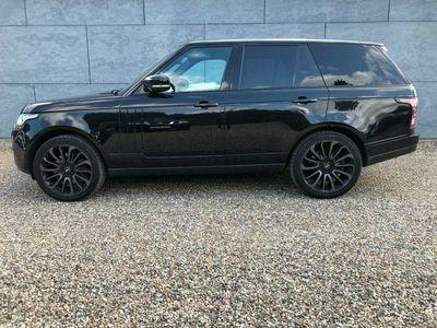 used Land Rover Range Rover 4,4 SDV8 Autobiography Black aut.