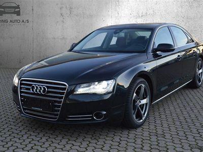 brugt Audi A8 3,0 TDI DPF Tiptr. 250HK 6g Aut. - Personbil - Sortmetal