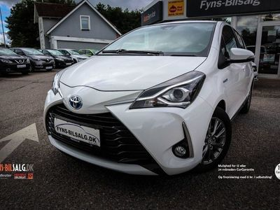 brugt Toyota Yaris Hybrid 1,5 Hybrid Exclusive e-CVT