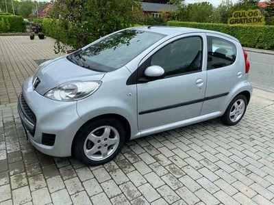brugt Peugeot 107 5 dørs, 1,0 benzin, 68 hk.