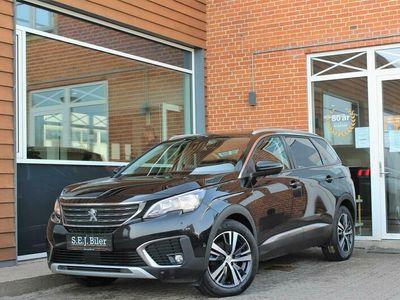 brugt Peugeot 5008 1,6 BlueHDi Allure EAT6 120HK 6g Aut. A+