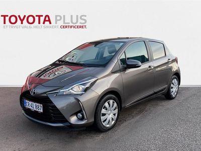 brugt Toyota Yaris 1,0 VVT-I T3 Smart 72HK 5d A+