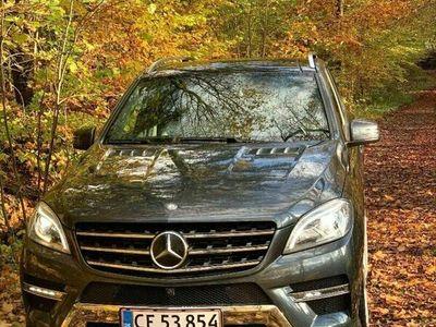 brugt Mercedes ML350 BlueTEC AMG Line aut. 4-M