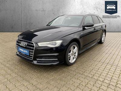 brugt Audi A6 Avant 2,0 TDI Ultra S Tronic 190HK Stc 7g Aut. - Personbil - Sort