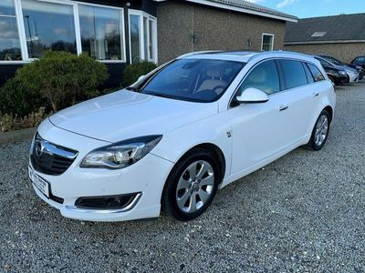 brugt Opel Insignia 1,6 CDTi 136 Cosmo ST aut.