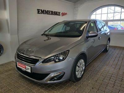 brugt Peugeot 308 1,6 BlueHDi 120 Allure SW
