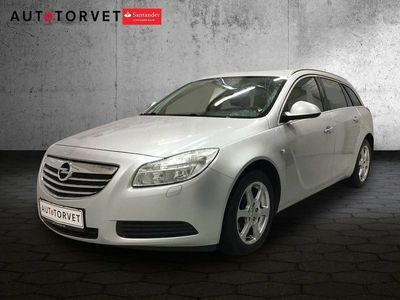 brugt Opel Insignia 2,0 CDTi 130 Edition ST aut.