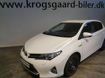 brugt Toyota Auris Hybrid 1,8 VVT-I E-CVT 136HK 5d Aut.