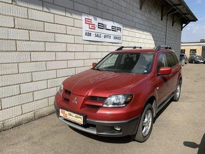 brugt Mitsubishi Outlander 2,0 Comfort 2WD 136HK 5d