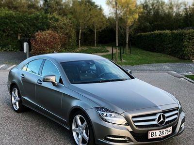 używany Mercedes CLS350 3,5 CGI BlueEfficiency 306HK 4d 7g Aut.