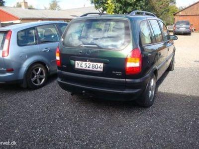 brugt Opel Zafira 1,8 16V Elegance 115HK