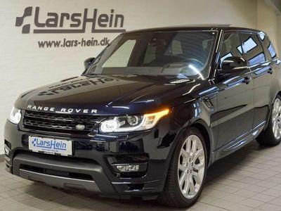 brugt Land Rover Range Rover Sport 3,0 SDV6 Autobiography Dynamic aut
