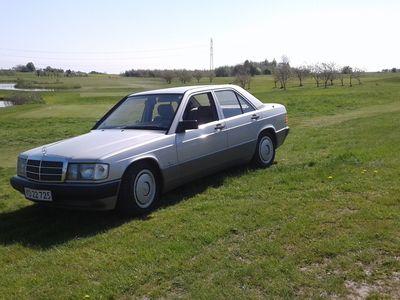 brugt Mercedes 190 UOPLYST