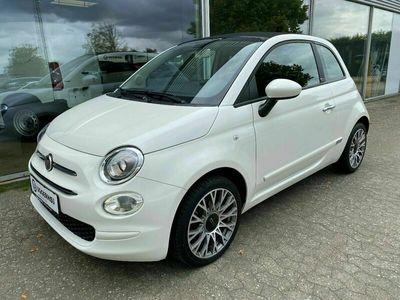brugt Fiat 500C 1,2 Lusso