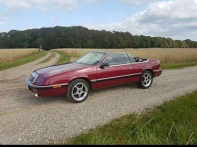brugt Chrysler Le Baron cabriolet