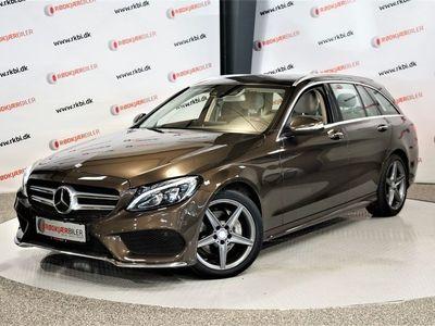 brugt Mercedes C220 2,2 BlueTEC AMG Line stc. aut.