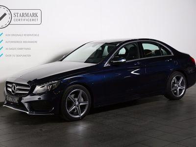 brugt Mercedes C220 BlueTEC AMG Line aut.