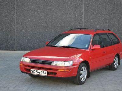 usata Toyota Corolla Corolla 2 Ejersst-car 1.6 benzin nysynet 1,6