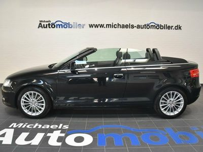 used Audi A3 Cabriolet 2,0 TFSi Ambition DSG