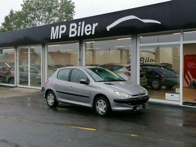 brugt Peugeot 206 1,4 XR