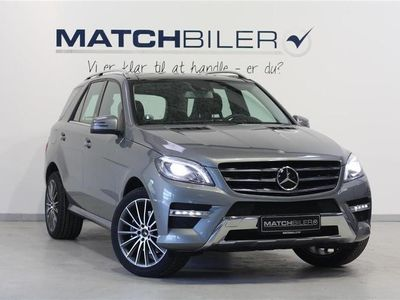 brugt Mercedes ML350 3,0 Bluetec 4-Matic 7G-Tronic Plus 258HK 5d 7g Aut.