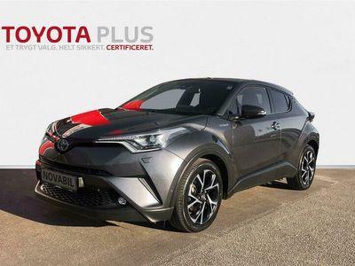 brugt Toyota C-HR 1,8 B/EL C-LUB Selected + Premium Multidrive S 122HK 5d Aut. A+++