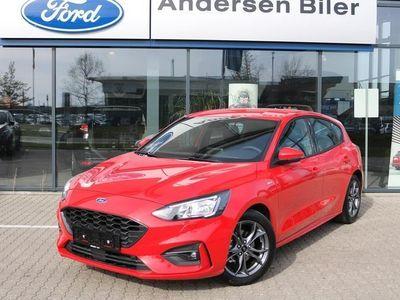 brugt Ford Focus 1,0 EcoBoost ST-Line 125HK 5d 8g Aut.