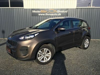 second-hand Kia Sportage 1,7 CRDI Advance 115HK 5d 6g