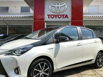 brugt Toyota Yaris 15 Hybrid H3 Premiumpakke E-CVT 100HK 5d Trinl. Gear