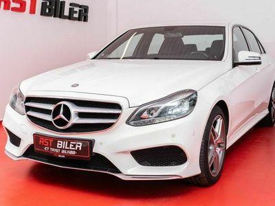 brugt Mercedes E220 2 BlueTEC AMG Line aut.