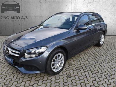 brugt Mercedes C200 T 1,6 D 7G-Tronic Plus 136HK Stc 7g Aut. - Personbil - koksmetal