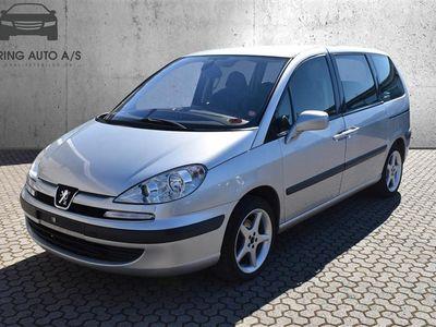 brugt Peugeot 807 2,2 HDI ST 130HK - Personbil - sølvmetal