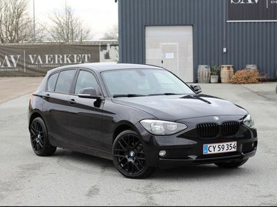 brugt BMW 118 1-Serie d 5-dørs hatchback SteptronicM Sport